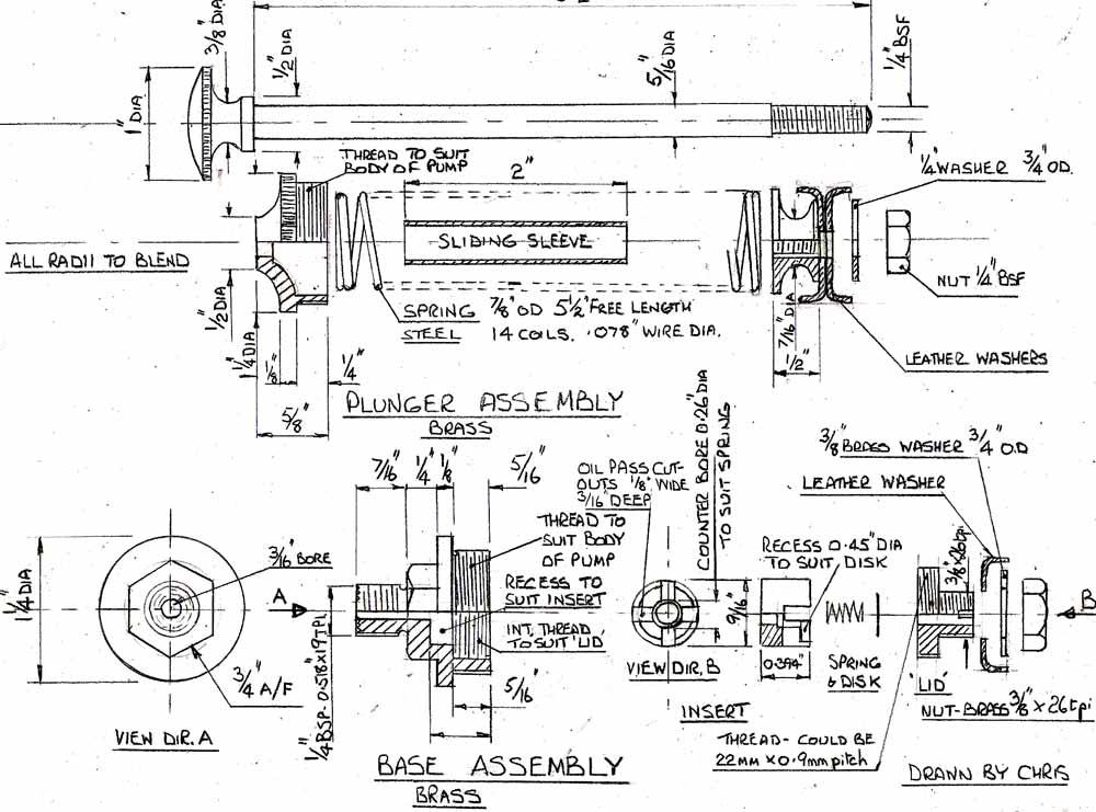 Hand Oil Pump Diagram