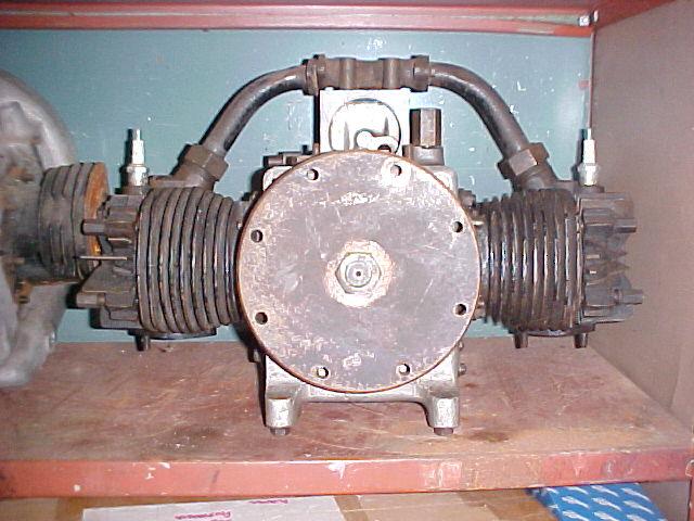 Douglas vintage stationary twin sold on ebay for Stationary motors for sale